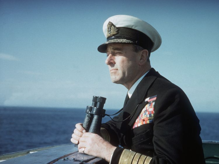 Lord Mountbatten, better known to his family as Uncle Dickie