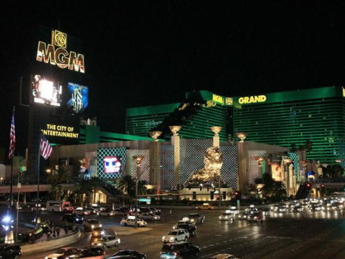 Gavin Cox slipped during the performance at the MGM Grand hotel david copperfield not liable for briton's vanishing act injuries David Copperfield not liable for Briton's vanishing act injuries skynews mgm grand hotel david copperfield 4286731