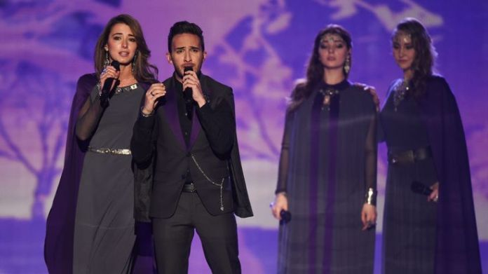 Armenia's 2015 entry Genealogy sang a song to remember the 1.5million killed in an act of genocide by the Ottoman Empire Eurovision's history of political voting Eurovision's history of political voting skynews armenia eurovision 4306709