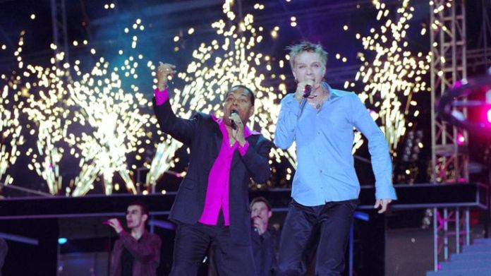 Estonia's winning entry in 2001 was 'Nordic with a twist'. Pic: Rex Eurovision's history of political voting Eurovision's history of political voting skynews eurovision estonia 4306960