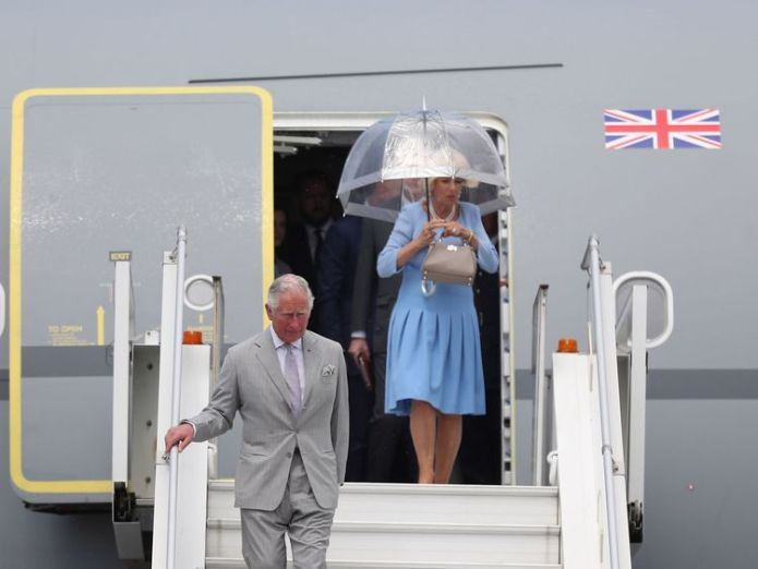 The Prince of Wales and Duchess of Cornwall arrive at Nice Cote d'Azur Airport, in Nice, France, for the start of their official visit to France and Greece. prince charles and camilla pay moving tribute to nice terror attack victims Prince Charles and Camilla pay moving tribute to Nice terror attack victims skynews charles camilla royal 4303479