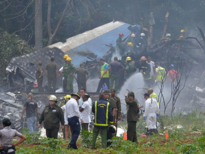 The aircraft crashed after taking off from Havana's Jose Marti airport 20 priests among those who died in Cuba plane crash 20 priests among those who died in Cuba plane crash skynews cuba plane crash 4314069