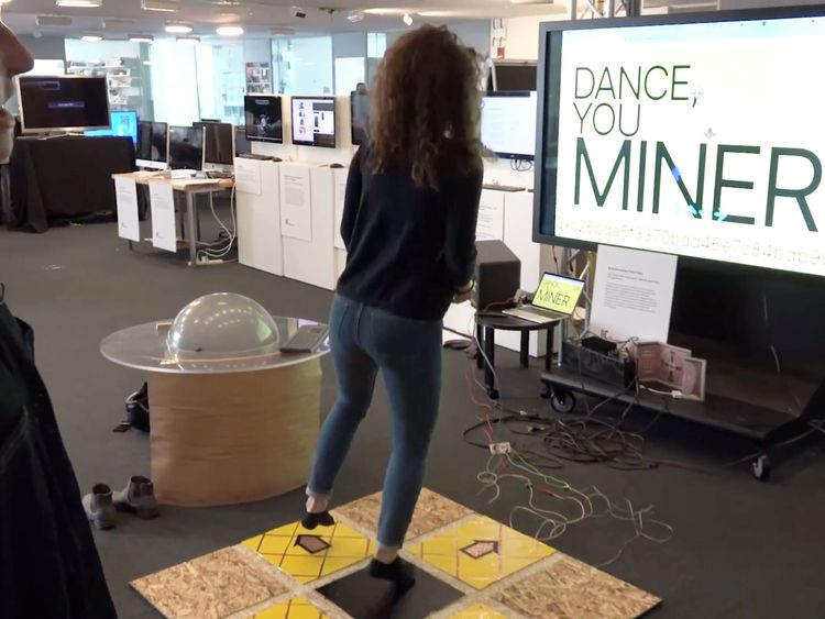 Players mine cryptocurrency by playing DDR
