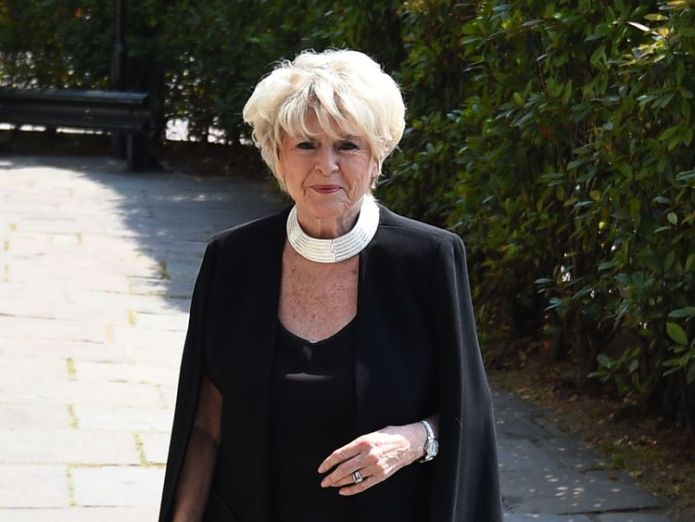 Gloria Hunniford at the Supermarket Sweep's star's funeral David Walliams and Graeme Souness among mourners at service David Walliams and Graeme Souness among mourners at service skynews gloria hunniford dale winton 4317355