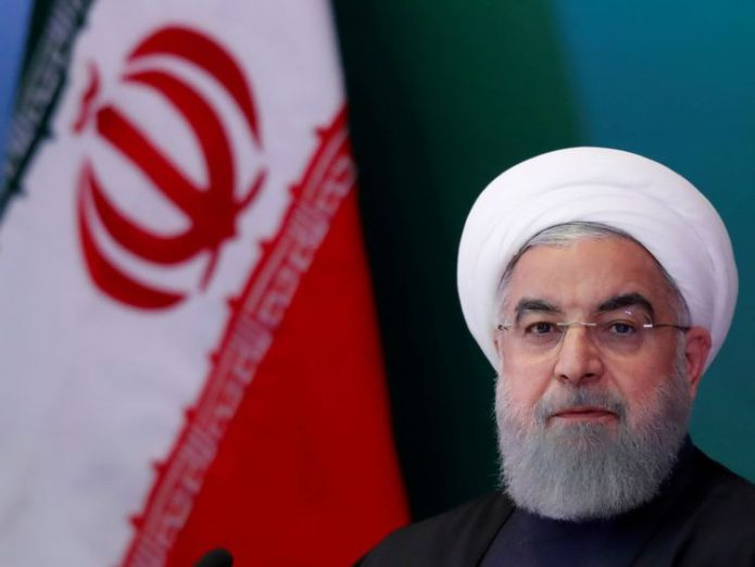 Mr Rouhani says the Us is making a mistake if it abandons the deal What does Donald Trump have in mind for Iran? What does Donald Trump have in mind for Iran? skynews hassan rouhani iran 4302242