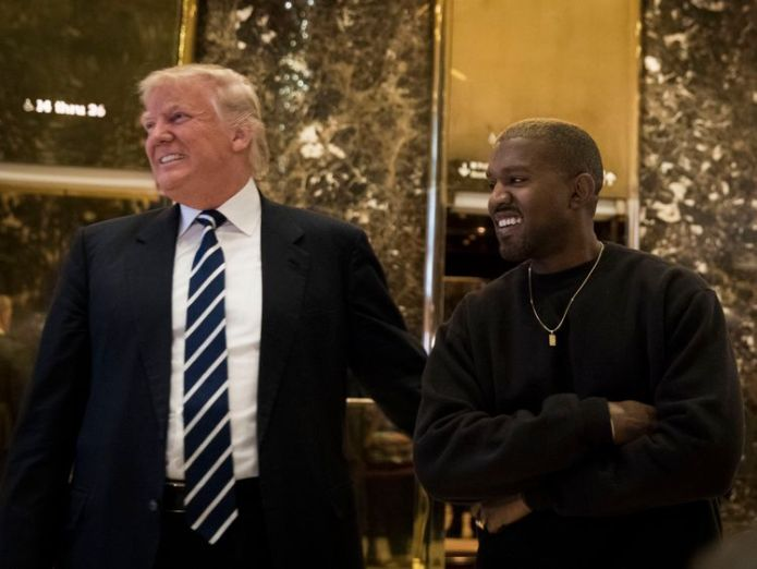 Kanye West has recently come out in support of President Trump Stevie Wonder attacks Kanye West's claim that 'slavery was a choice' Stevie Wonder attacks Kanye West's claim that 'slavery was a choice' skynews kanye trump 4307938