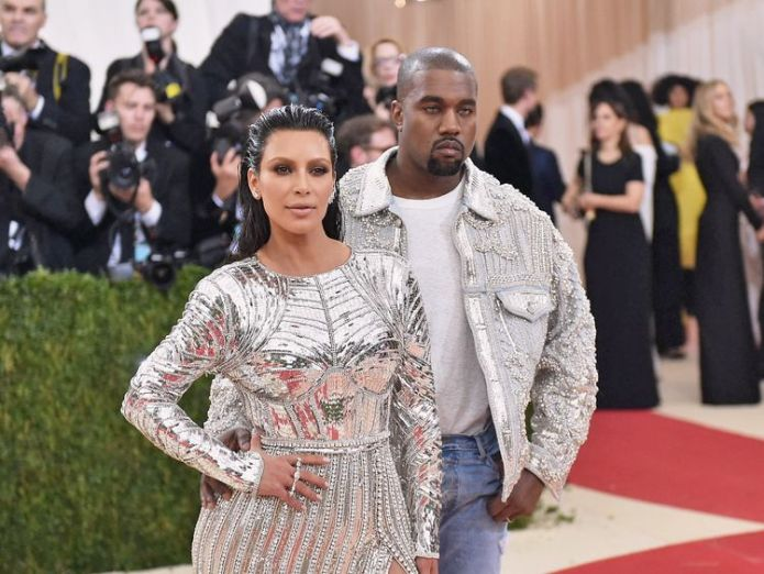 Kanye West married Kim Kardashian in 2014 Kanye West says slavery was 'a choice' in controversial interview Kanye West says slavery was 'a choice' in controversial interview skynews kim kardashian kanye west 4298554