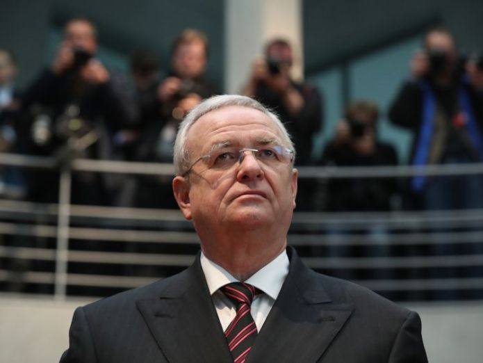 Martin Winterkorn quit as chief executive of the VW group shortly after the diesel emissions scandal came to light Audi boss Rupert Stadler held in German diesel emissions probe Audi boss Rupert Stadler held in German diesel emissions probe skynews martin winterkorn vw 4300085