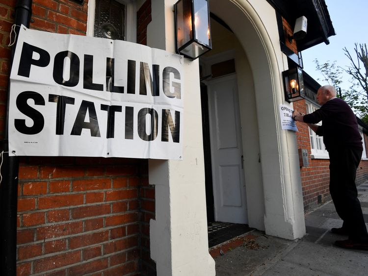 Voting begins in local government elections in London