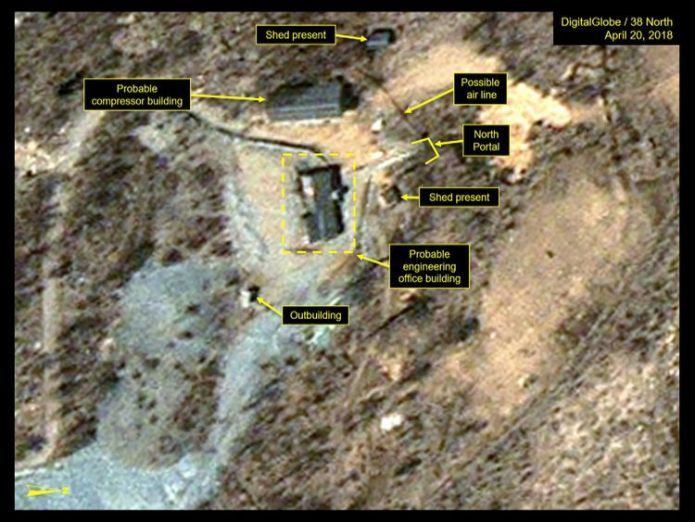 Punggye-ri nuclear test site in North Korea What we know about North Korea's secretive Punggye-ri nuclear site What we know about North Korea's secretive Punggye-ri nuclear site skynews punggye ri nuclear 4317417