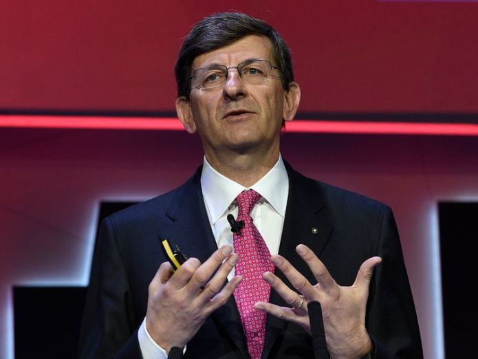 Vodafone  CEO Vittorio Colao to leave after a decade in charge. How Vodafone was shaped into a behemoth How Vodafone was shaped into a behemoth skynews vodafone ceo vittorio colao 4310581