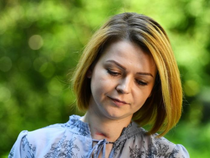 Yulia Skripal I'm lucky to have survived Salisbury 'assassination attempt' I'm lucky to have survived Salisbury 'assassination attempt' skynews yulia skripal russia 4318421
