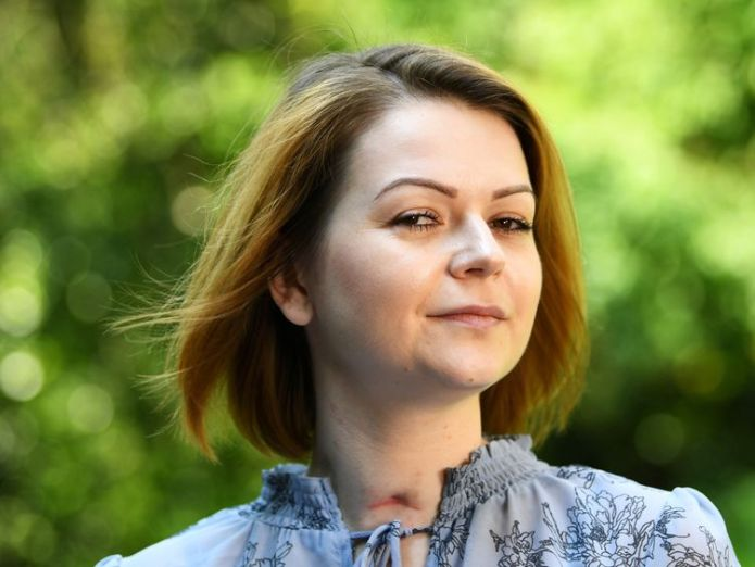 Yulia Skripal I'm lucky to have survived Salisbury 'assassination attempt' I'm lucky to have survived Salisbury 'assassination attempt' skynews yulia skripal russia 4318423