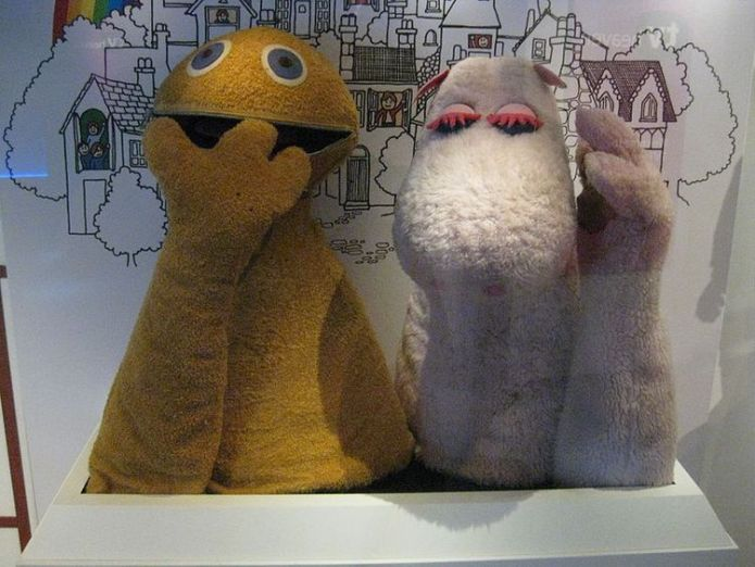 Zippy and George from Rainbow, on display at the National Media Museum in Bradford rod hull's emu smashes estimate at auction Rod Hull's Emu smashes estimate at auction skynews zippy george rainbow 4325132