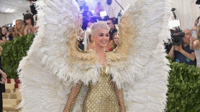 attends the Heavenly Bodies: Fashion & The Catholic Imagination Costume Institute Gala at The Metropolitan Museum of Art on May 7, 2018 in New York City.