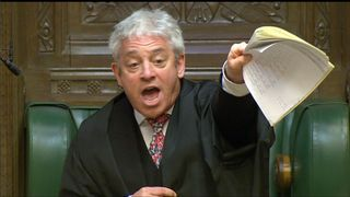 Speaker Bercow in the Commons