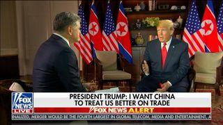 "Donald Trump on Fox News & # 39; Hannity ""srcset ="" https://e3.365dm.com/18/06/320x180/skynews-fox-news-trump-hannity_4334697.jpg?20180613090742 320w, https://e3.365dm.com/18/06/ 640x380 / skynews-fox-news-trump-hannity_4334697.jpg? 20180613090742 640w, https://e3.365dm.com/18/06/736x414/skynews-fox-news-trump-hannity_4334697.jpg?20180613090742 736w, https: //e3.365dm.com/18/06/992x558/ skynews-fox-news-trump-hannity_4334697.jpg? 20180613090742 992w, https://e3.365dm.com/18/06/1096x616/skynews-fox-news-trump-hannity_4334697.jpg? 20180613090742 1096w, https://e3.365dm.com/18/06/1600x900/skynews-fox-news-trump-hannity_4334697.jpg?20180613090742 1600w, https://e3.365dm.com / 18/06 / 1920x1080 / skynews-fox-news-trump-hannity_4334697.jpg? 20180613090742 1920w, https://e3.365dm.com/18/06/2048x1152/skynews-fox-news-trump-hannity_4334697.jpg? 20180613090742 2048w ""sizes ="" (minimum width: 900px) 992px, 100vw"