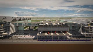 Heathrow Airport as it could look after expansion A failure of the Heathrow expansion could cost taxpayers 'billions of pounds' A failure of the Heathrow expansion could cost taxpayers 'billions of pounds' skynews heathrow airport expansion 4328944