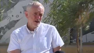 Jeremy Corbyn speaks to Sky News about Donald Trump's impending visit