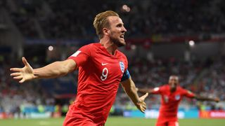 Harry Kane scored twice as England earned three points in their World Cup opener England support at World Cup 'lowest for 30 years', supporters group says England support at World Cup 'lowest for 30 years', supporters group says skynews kane england 4339631