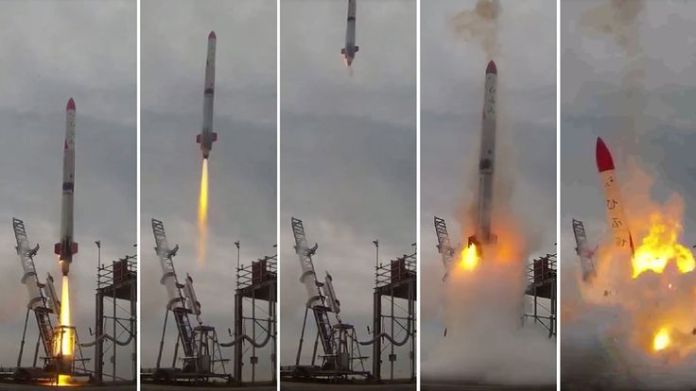 Video grabs from Interstellars Technologies shows failed launch of the rocket MOMO-2 in Taiki, Kokkaido prefecture  Seven times when space rocket launches have failed skynews japan rocket explosion 4349589