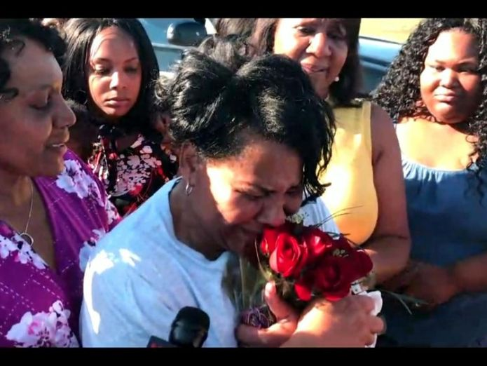Alice Johnson was greeted by family as she was released from prison   Kim Kardashian West meets woman she helped free from prison skynews alice johnson prison 4329801