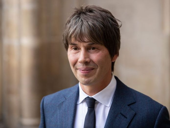 Physicist Brian Cox came to pay his respects hawking word Hawking's words to be set to music and sent into space after Westminster tribute skynews brian cox stephen hawking 4336966