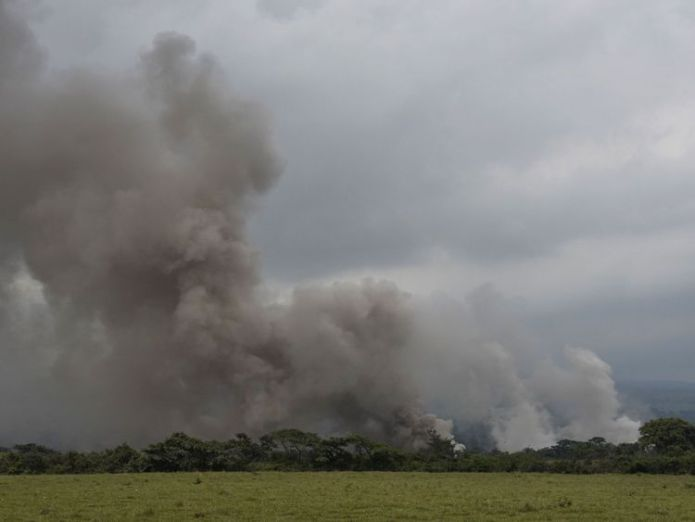 The latest explosions billowed ash more than 5,000m (16,000ft) above sea level Guatemala's Volcano of Fire erupts again, with 192 people still missing Guatemala's Volcano of Fire erupts again, with 192 people still missing skynews guatemala volcano 4329082