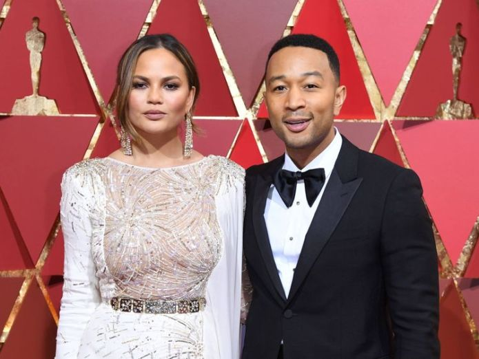 John Legend and his wife Chrissy Teigen have been fierce critics of the policy John Legend criticises Paul Ryan for Father's Day post amid immigration row John Legend criticises Paul Ryan for Father's Day post amid immigration row skynews john legend chrissy teigen 4338478