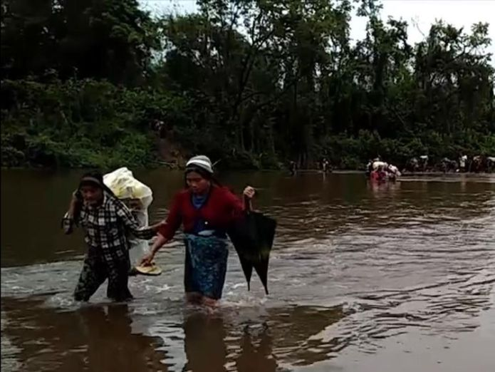 The Myanmar military is being accused of turning its guns on the Kachin people.  'Worrying evidence' of new genocidal campaign in Myanmar 'Worrying evidence' of new genocidal campaign in Myanmar skynews kachin violence crawford 4328140