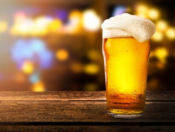 Lager First beer, now chicken! Shortage warnings as CO2 stocks fall First beer, now chicken! Shortage warnings as CO2 stocks fall skynews lager beer pint generic 4339979