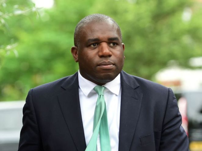 David Lammy MP arrives at St Helen's Church, North Kensington, for a Grenfell Tower fire Memorial Service to mark one year since the blaze, which claimed 72 lives. PRESS ASSOCIATION Photo. Picture date: Thursday June 14, 2018. Thursday marks 12 months since a small kitchen fire in the high-rise turned into the most deadly domestic blaze since the Second World War. See PA story MEMORIAL Grenfell. Photo credit should read: David Meirzoeff/PA Wire