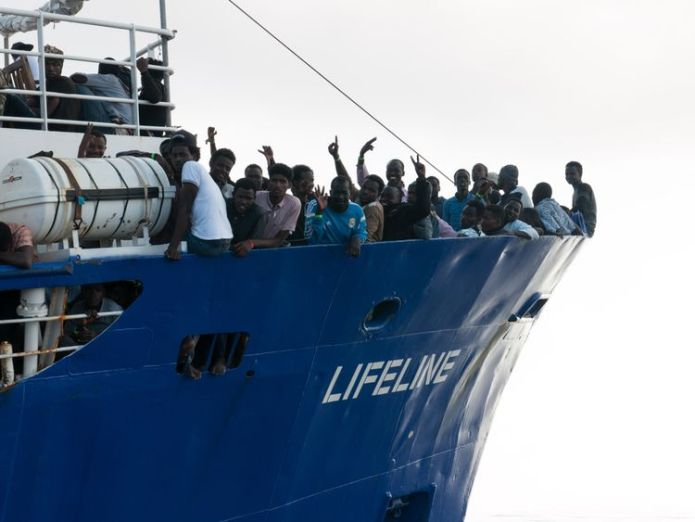 Migrants rescued in Mediterranean  Austria carries out border exercise as EU states refuse to allow migrant rescue ship to dock Austria carries out border exercise as EU states refuse to allow migrant rescue ship to dock skynews mediterranean migrants 4343758