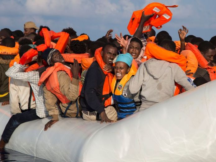 Migrants rescued in Mediterranean  Austria carries out border exercise as EU states refuse to allow migrant rescue ship to dock Austria carries out border exercise as EU states refuse to allow migrant rescue ship to dock skynews mediterranean migrants 4343760