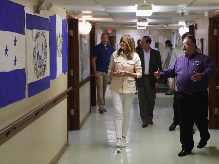The First Lady has expressed concern over separations