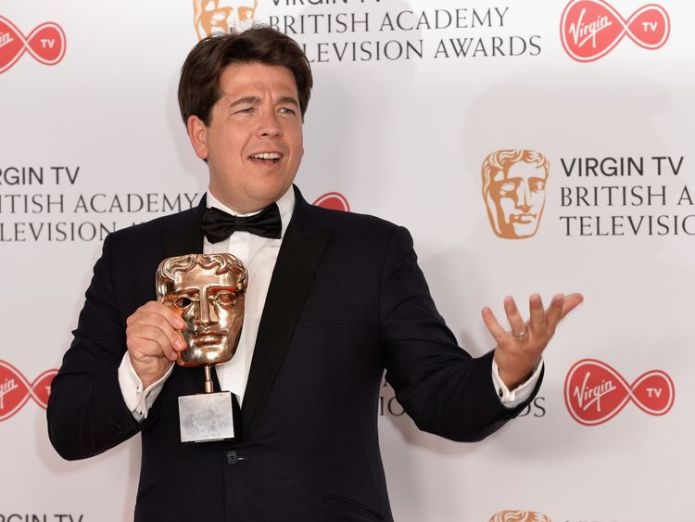 The comedian is thought to be shaken but not injured 'Hammer-wielding thieves' target Michael McIntyre as he picks up son from school 'Hammer-wielding thieves' target Michael McIntyre as he picks up son from school skynews michael mcintyre comedian 4328289