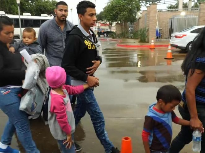 Some are being allowed to stay with family while their immigration status is considered