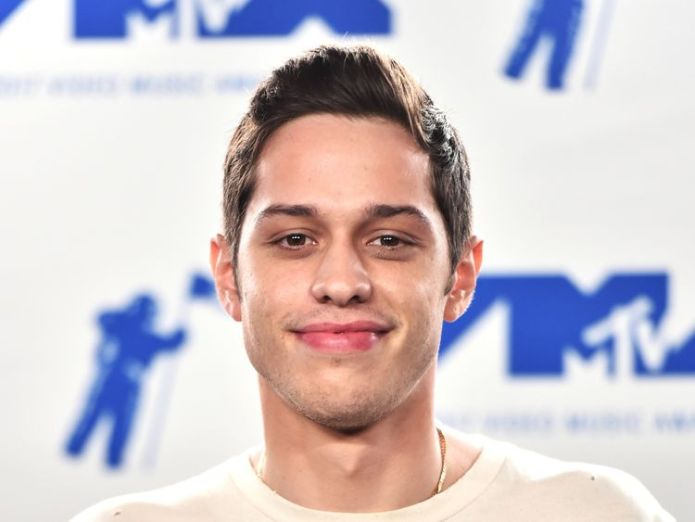 INGLEWOOD, CA - AUGUST 27: Pete Davidson poses in the press room during the 2017 MTV Video Music Awards at The Forum on August 27, 2017 in Inglewood, California. (Photo by Alberto E. Rodriguez/Getty Images)  Ariana Grande 'engaged' to Pete Davidson after whirlwind romance skynews pete davidson ariana grande 4334437