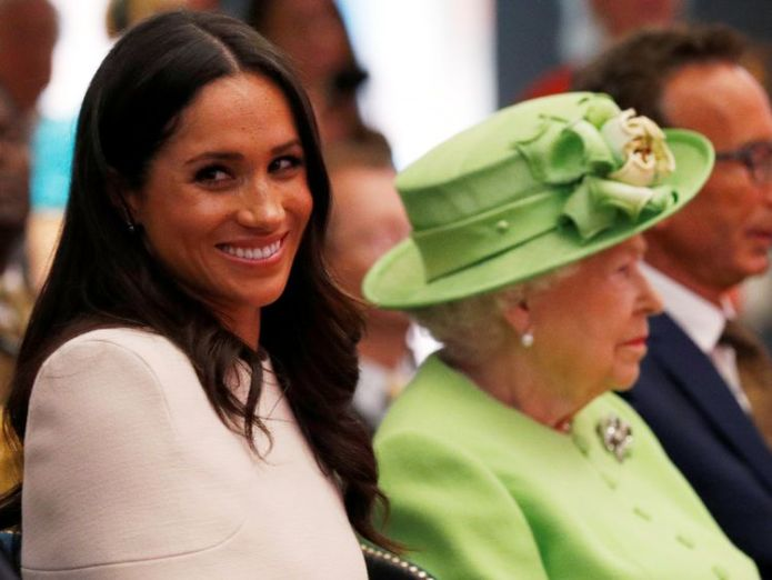 Queen Elizabeth and Meghan, the Duchess of Sussex  Duchess of Sussex's nephew Tyler Dooley gets his own MTV reality show skynews queen meghan markle 4336002