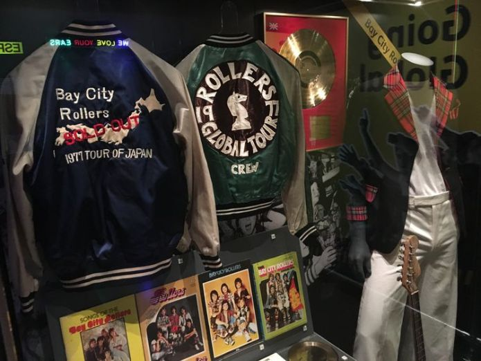 60 years of Scottish pop is told through stage outfits, instruments and props Sixty years of Scottish music goes on display Sixty years of Scottish music goes on display skynews rip it up scotland 4342497