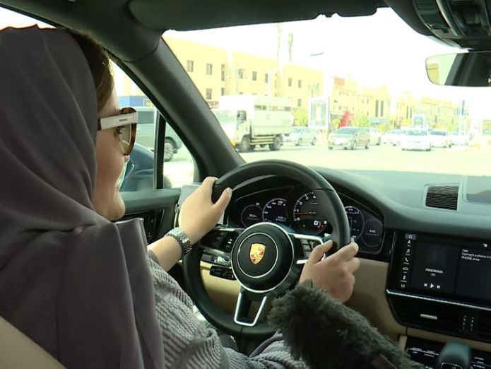 Women in Saudi Arabia are celebrating the lifting of a ban allowing them to drive for the first time.  Saudi Arabia suspends trade ties with Canada over rights activist arrest skynews saudi arabia driving 4344220
