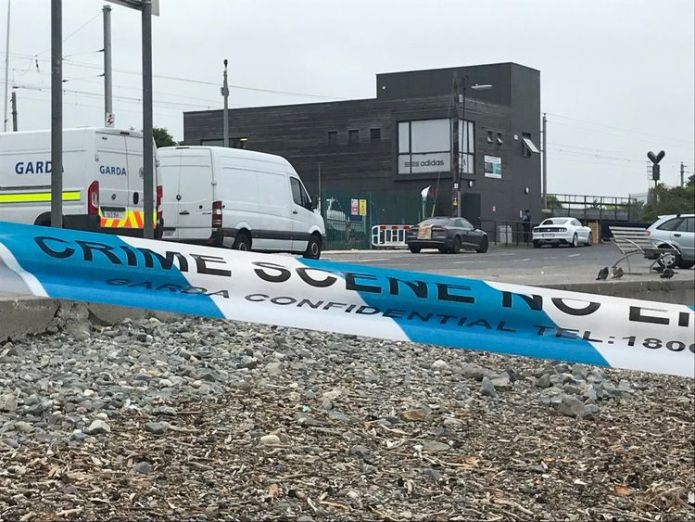 The club is located at Bray harbour. Pic: Paul Quinn / Newstalk FM father of irish champion katie taylor shot at boxing club Father of Irish champion Katie Taylor shot at boxing club skynews shooting bray 4328513