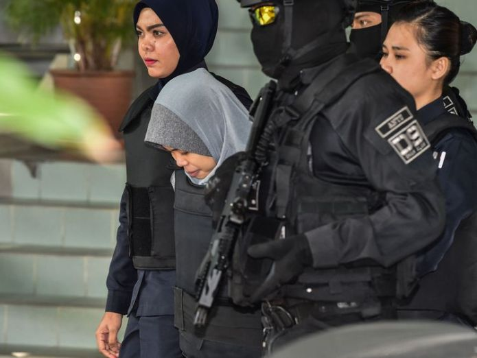 Siti Aisyah claimed to be a masseur suspects in kim jong nam murder are 'trained assassins', court hears Suspects in Kim Jong Nam murder are 'trained assassins', court hears skynews siti aisyah kim jong nam 4347812