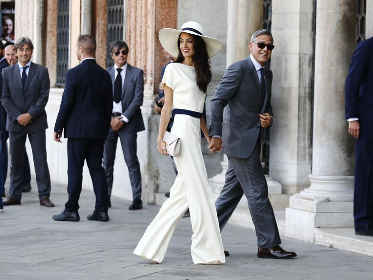 Chatila jewellery store made the earrings Amal Alamuddin wore to wed George Clooney in 2014