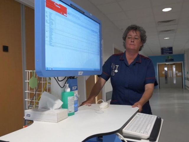 This bedside computer is helping to transform care at Queen Elizabeth Hospital in Birmingham