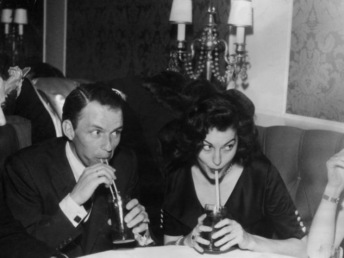 Sinatra married Ava Gardner after an affair  Frank Sinatra's first wife Nancy dies aged 101, daughter announces skynews frank sinatra ava gardner 4361579
