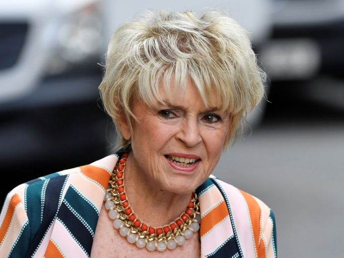 Presenter Gloria Hunniford was at the High Court to support Sir Cliff  Sir Cliff Richard wins £210,000 damages from BBC skynews gloria hunniford high court 4365095