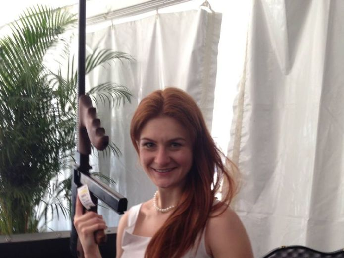 Maria Butina allegedly traded sex for a position within a special interest organisation. Pic: Facebook  Russian 'agent' Maria Butina held in US jail over conspiracy charges skynews maria butina butina 4365493
