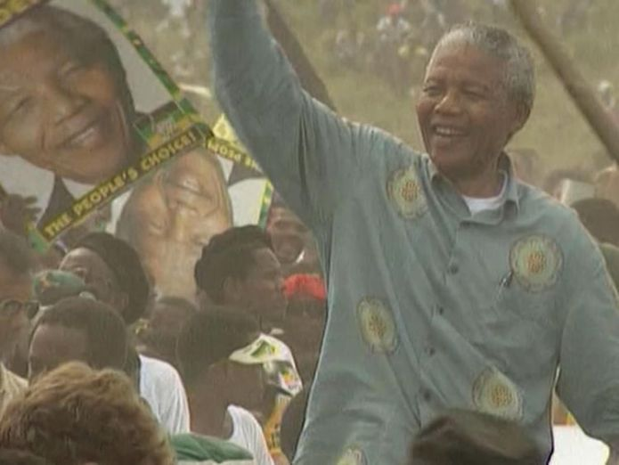 Nelson Mandela was released from prison in 1990  Former president remembered by workers skynews nelson mandela africa 4364796