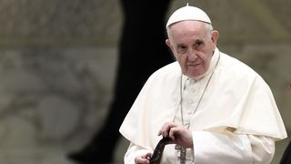 The pope faces a tricky task in Ireland  Francis 'compares cover-up to human excrement' during meeting with abuse survivors skynews pope francis ireland 4399362